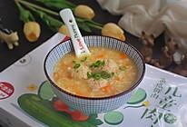 胡萝卜山药肉丸粥的做法