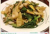 鲍鱼春笋炒韭菜的做法