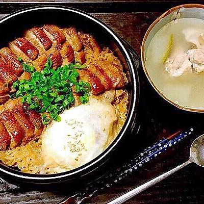 【白露】温补去燥的烧鸭煲仔饭