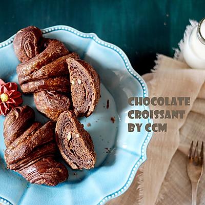 巧克力坚果可颂