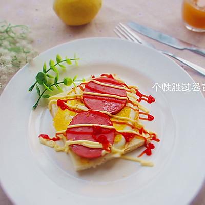 营养土司早餐