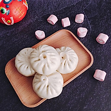#母亲节,给妈妈做道菜#小白菜鸡蛋木耳素包子