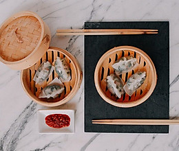水晶蒸饺 ( 水晶饺子皮详细步骤)的做法
