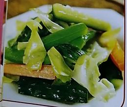 泡圆白菜的做法