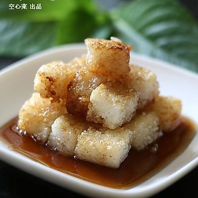糖醋粢饭糕(家庭版糖醋汁的配比原则 )
