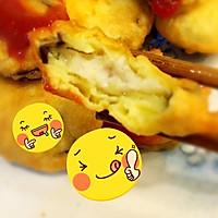 鱼肉茄饼的做法图解6