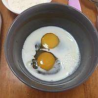 蕾丝~鸡蛋卷饼的做法图解3