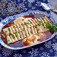 鸡蛋蒸豆腐#嘉宝笑容厨房#的做法图解12