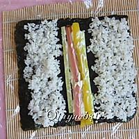 翻转樱花寿司的做法图解9