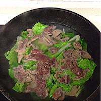 白菜猪肝汤的做法图解5