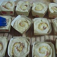 香葱培根奶酪面包的做法图解11