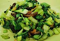#夏日撩人滋味#香菇油菜的做法