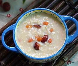 红枣枸杞燕麦粥#美的早安豆浆机#的做法