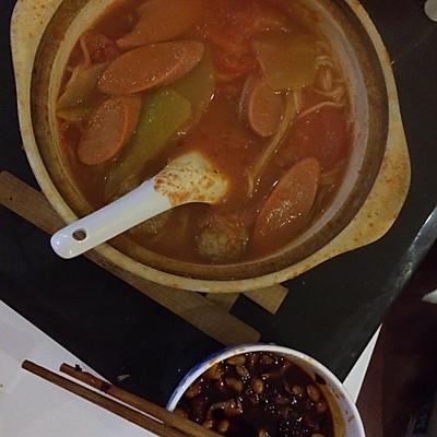 酸汤砂锅粉