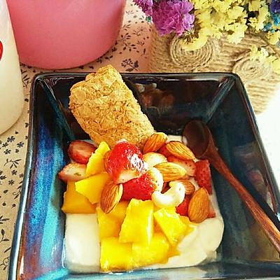 减脂!酸奶水果沙拉
