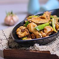 简单易做的家常菜,青蒜炒鸡的做法图解9