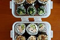 三种口味的寿司的做法