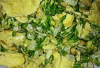 槐花炒蛋的做法