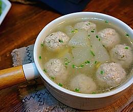 冬瓜肉丸汤的做法