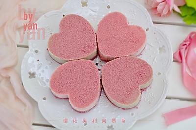 粉色少女心-樱花奥利奥&抹茶慕斯