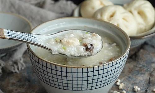 香菇薏米滑鸡粥#飞利浦智芯IH电饭煲#的做法