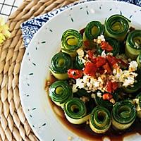 夏天还在吃拍黄瓜吗?有更高颜值好吃的【响油黄瓜】的做法图解8