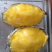 芝士焗红薯的做法图解10