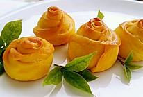 李孃孃爱厨房之——南瓜玫瑰花面包的做法