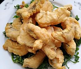 椒盐炸鱼段的做法