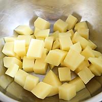 烤箱无油版-芝士土豆球的做法图解1