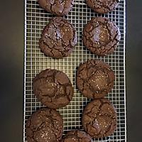 【双重巧克力海盐曲奇】不用打发黄油 0失败的甜品的做法图解10