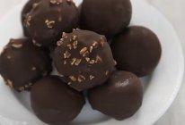 巧克力脆皮汤圆的做法