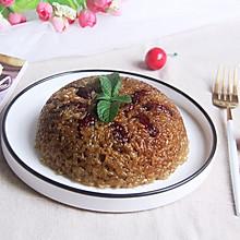#馅儿料美食,哪种最好吃#红糖豆沙糯米饭