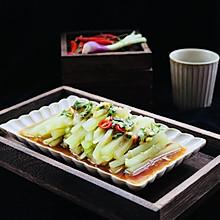 #爽口凉菜,开胃一夏!#凉拌爽口莴笋