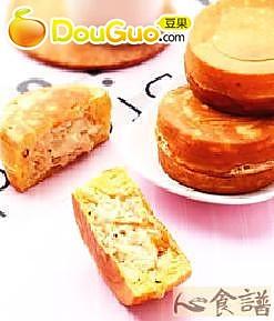 鲔鱼美奶车轮饼的做法