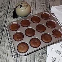 淡奶油巧克力戚风的做法图解13