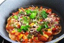 素食-素披萨(饺子皮)的做法