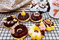 【美食魔法】和果子装饰日式糯米甜甜圈的做法