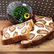 豹纹吐司面包#福临门好面用芯造#