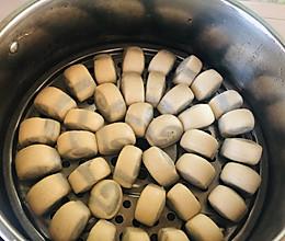 花生酱➕核桃酱小花卷,最适合宝宝的面食的做法
