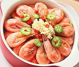 蒜茸粉丝北极虾的做法
