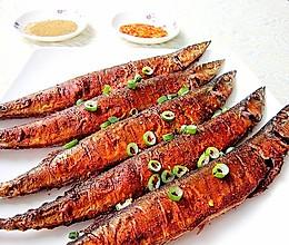 孜然烤秋刀鱼#九阳烘焙剧场#的做法