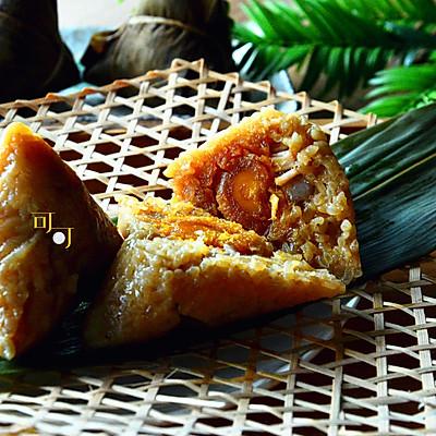 蛋黄肉粽:传统还是现代