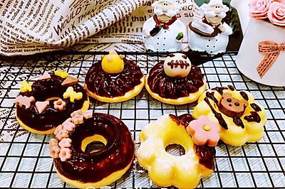 【美食魔法】和果子装饰日式糯米甜甜圈