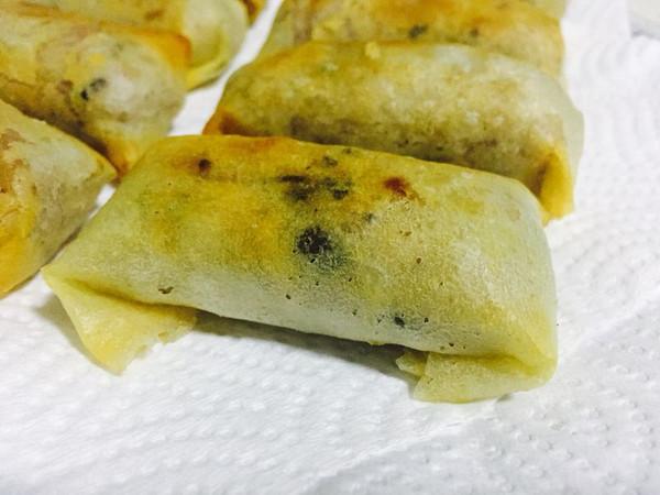 香酥芋卷的做法