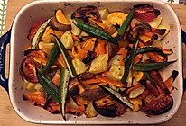 烤蔬菜的做法