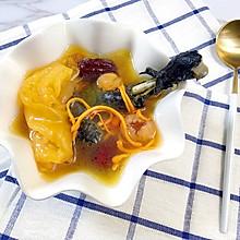 花胶虫草花乌鸡汤#柏翠辅食节-健康食疗#