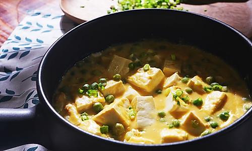 蛋黄豆腐 | 味蕾时光的做法