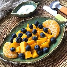 #餐桌上的春日限定#下午茶点~酸奶水果沙拉