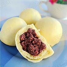 多吃粗粮有益健康——玉米面红豆包